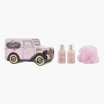 Baylis & Harding Rose Prosecco Fizz 4-Piece Bathing Gift Set
