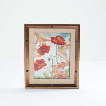 Floral Printed Framed Artwork