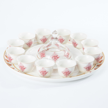 Printed 12-Piece Cawa Cup Set