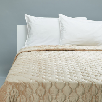 Margarita Quilted 3-Piece King Bedspread Set- 240x260 cms
