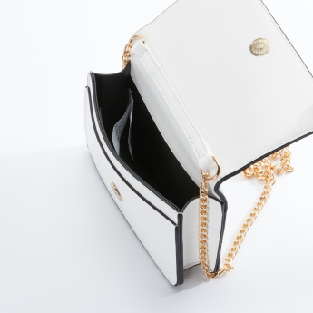 Paparazzi Studded Satchel Bag with Magnetic Snap Closure