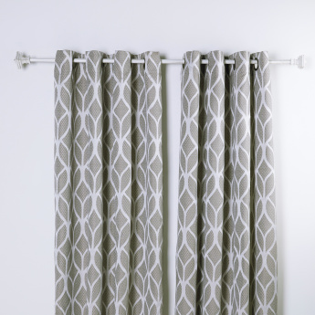 Emily Printed Curtain Pair