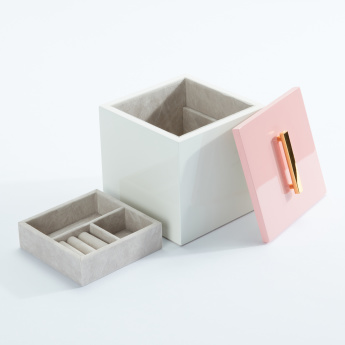Elle Box with Lid and Tray