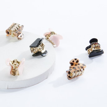 Sasha Assorted Hair Clamp - Set of 6