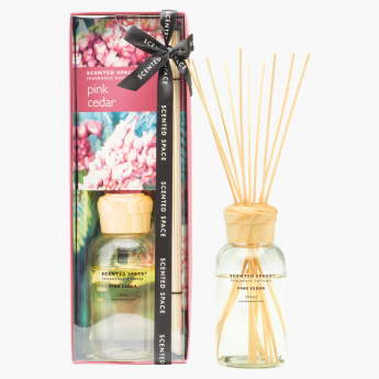 Scented Space Pink Cedar Fragrance Reed Diffuser - 200 ml