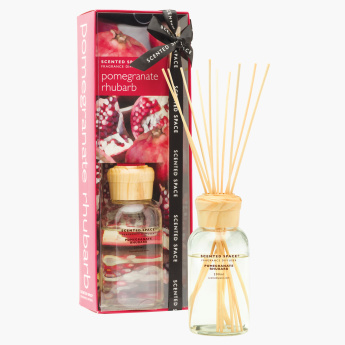 Scented Space Pomegranate Rhubarb Fragrance Reed Diffuser - 200 ml