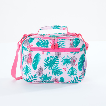 J World Printed Lunch Bag with Zip Closure