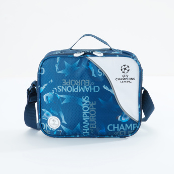 Sportandem Champions League Printed Insulated Lunch Bag