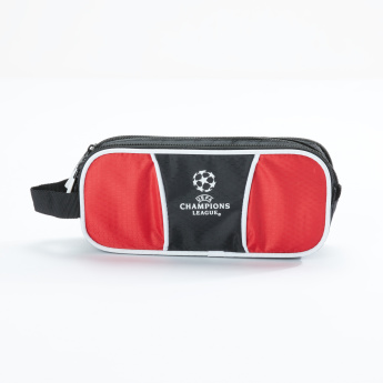 Sportandem Printed Pencil Case with Zip Closure