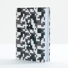 J World Printed Spiral Bound Notebook -  A4