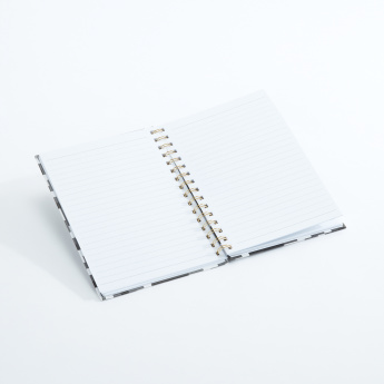 J World Printed Spiral Bound Notebook -  A5