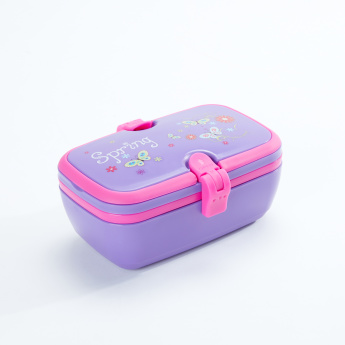 Bomi Printed 2-Tiered Lunch Box