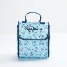 Pepe Jeans Lunch Bag with Hook and Loop Closure