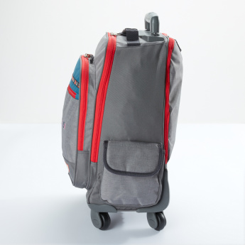 22a554265 Pepe Jeans Convertible Trolley Backpack with Zip Closure
