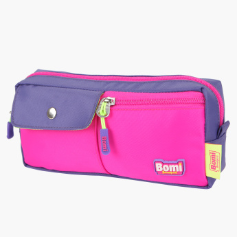 Bomi Pencil Case with Zip Closure