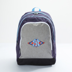 New York Yankees Embroidered Backpack with Zip Closure