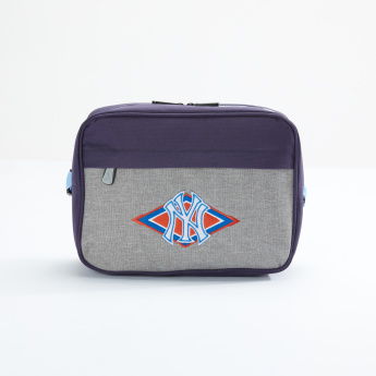 New York Yankees Embroidered Lunch Bag with Zip Closure