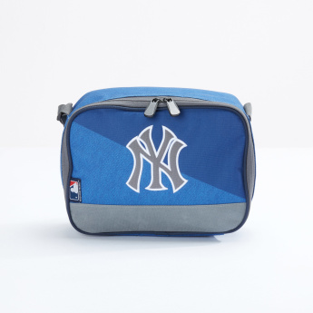 New York Yankees Lunch Bag with Zippered Closure
