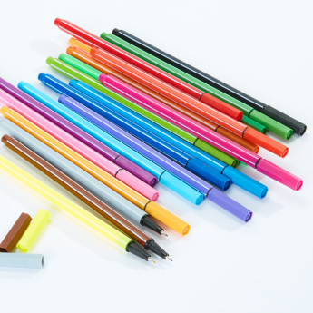 20-Piece Fineliner Calligraphy Pen Set