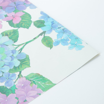 Floral Printed Wrapping Sheet - 50x70 cms