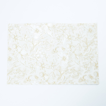 Floral Printed Gift Wrapping Paper