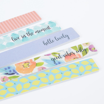 Upper Canada Printed Nail File - Set of 5