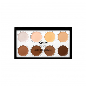 NYX Professional Makeup Highlight and Contour Cream Pro Palette