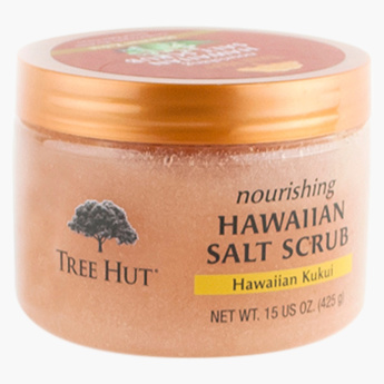 Tree Hut Hawaiian Kukui Salt Scrub - 425 g