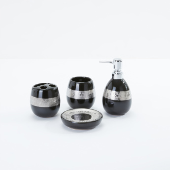 Decorative 4-Piece Bath Set