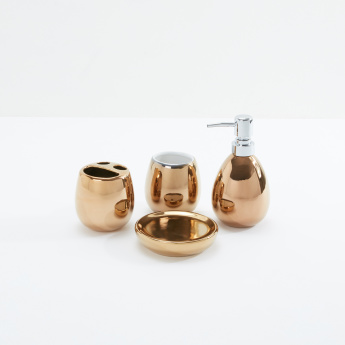 Decorative 4-Piece Bath Accessory Set
