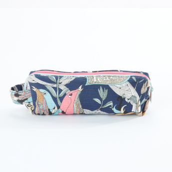 Sakroots Printed Pencil Case with Zip Closure