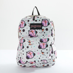 Jansport The Incredibles Printed Backpack with Zip Closure