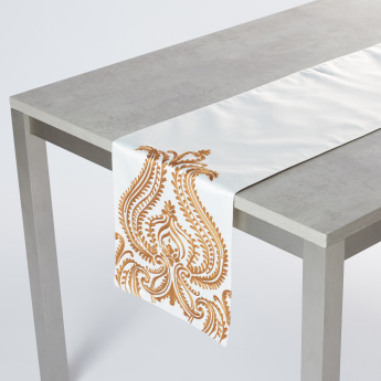 Embroidered Rectangular Table Runner
