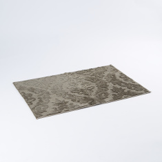 Textured Rectangular Rug - 76×118 cms