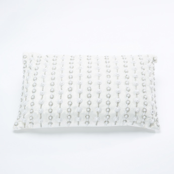 Lala Embellished Filled Cushion - 30x50 cms