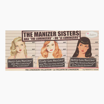 theBalm The Manizer Sisters Highlighter Trio