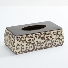 Textured Tissue Box Cover