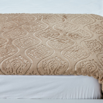 Berkshire Embossed Blanket - 229x229 cms