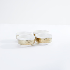 Glamour Textured Bowl - Set of 4