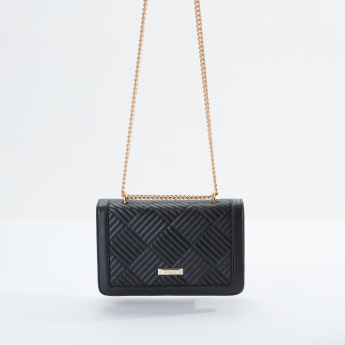Charlotte Reid Quilted Satchel Bag with Magnetic Snap Closure