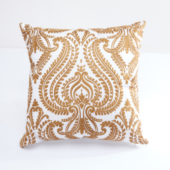 Liza Embroidered Square Cushion - 45x45 cms