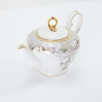 19V69 Round Teapot with Lid