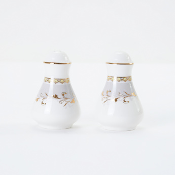 19V69 Printed Salt and Pepper Shaker Set
