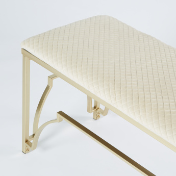 Mimosa Quilted Bench