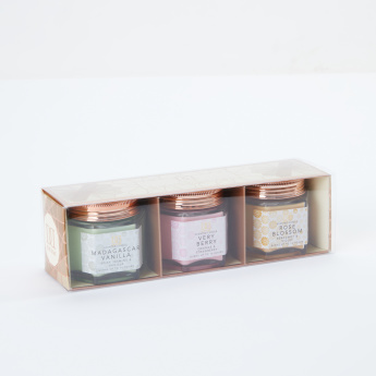 Handcrafted Jar Candle - Set of 3