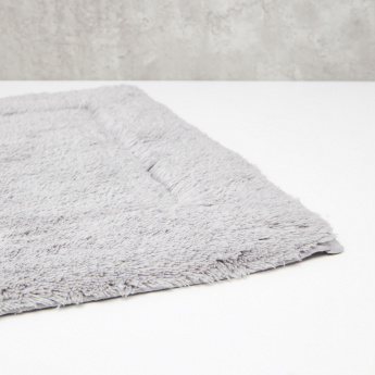 Textured Rectangular Bath Mat - 50x80 cms