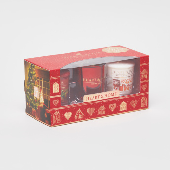 HEART & HOME Small 3-Piece Votive Gift Set