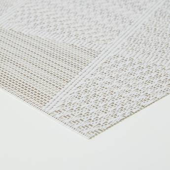 Textured Placemat and Coaster - Set of 8
