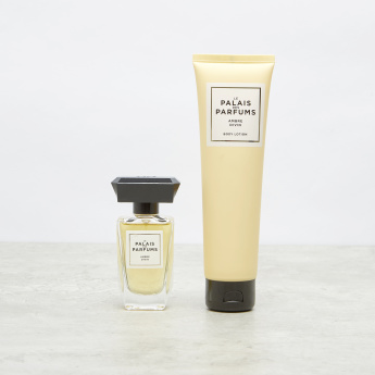 Le Palais Des Parfums Ambre Divin Eau De Parfum And Lotion Coffret Set