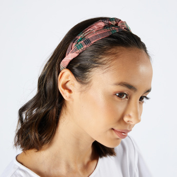 Sasha Knot Detail Head Band - Set of 2